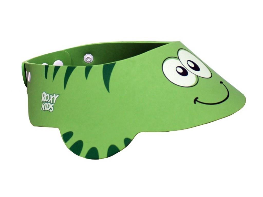 Козырек защитный для мытья головы Roxy-Kids RBC492 Green RBC-492-G детский ковшик roxy kids для мытья головы dino scoop фиолетовый