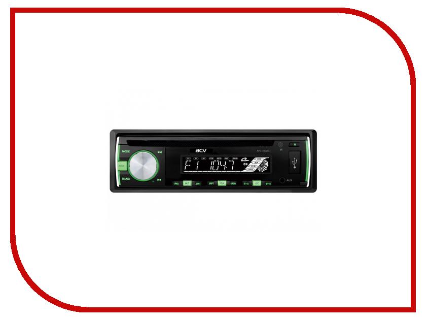 Автомагнитола ACV AVD-3402G автомагнитола acv amr 8002w white