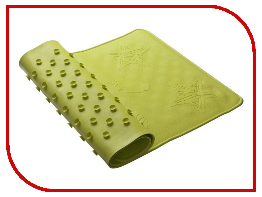 Резиновый коврик для ванны Roxy-Kids Lime BM-3474