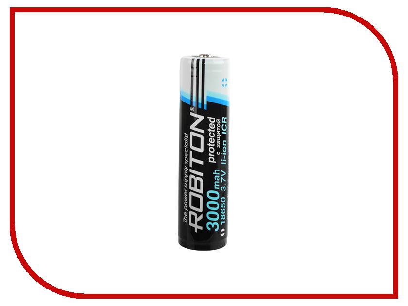 Аккумулятор Robiton 18650 3000mAh 13489 cheap 2pcs 100% new original 18650 3 7v 3000mah 18650 lithium rechargeable battery for led torch flashlight batteries