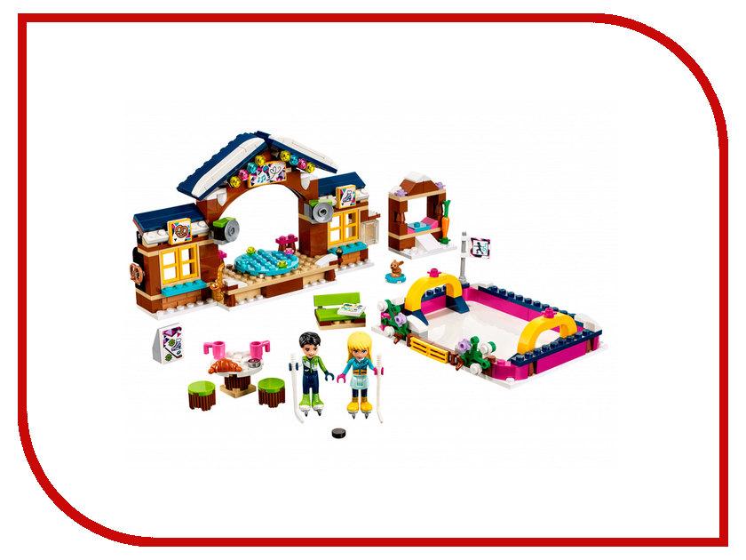 Конструктор Lego Friends Горнолыжный курорт Каток 41322