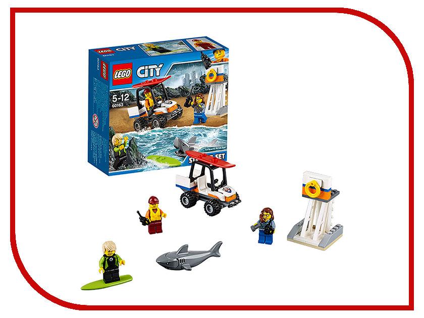 Конструктор Lego City Coast Guard Береговая охрана 60163