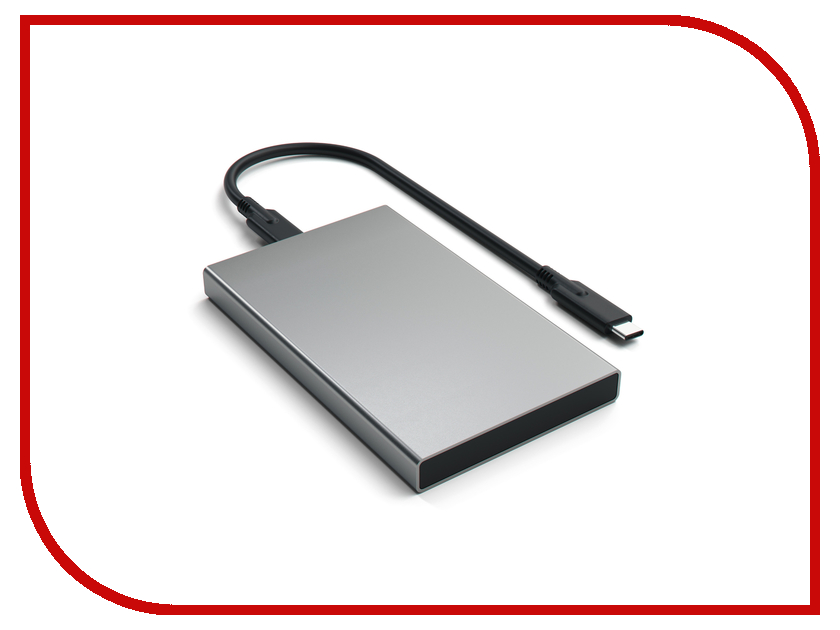 Аксессуар Корпус для HDD Satechi Aluminum ST-TCDEM HDD 2.5 USB Type C External Space Gray