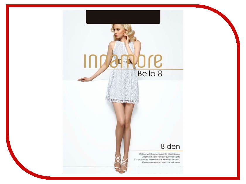 Колготки Innamore Bella размер 3 плотность 8 Den Nero цены онлайн