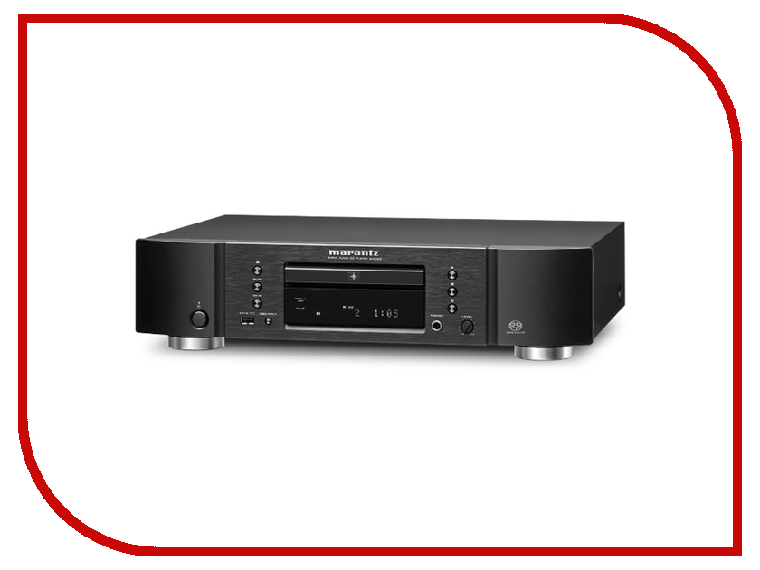 CD-проигрыватель Marantz SA8005 Black ресивер marantz av7703
