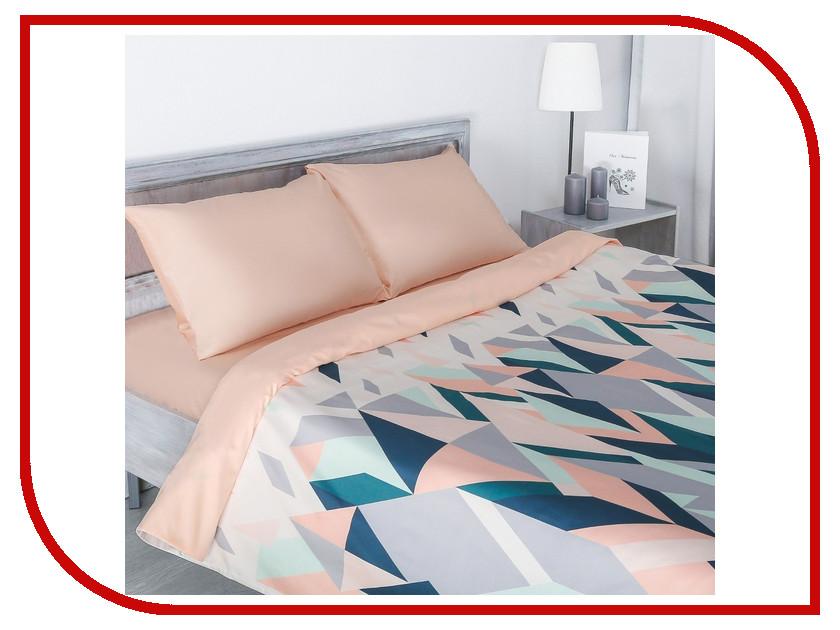 Постельное белье Этель Калейдоскоп Комплект 2 спальный Мако-сатин 2346503 bello interni шкаф etel