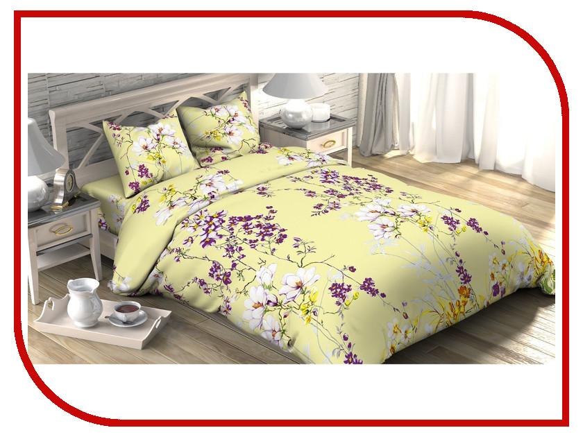 Постельное белье Этель Мелиса Комплект 2 спальный Бязь 1090400 постельное белье гербарий бежевый gs бязь 2 спальный