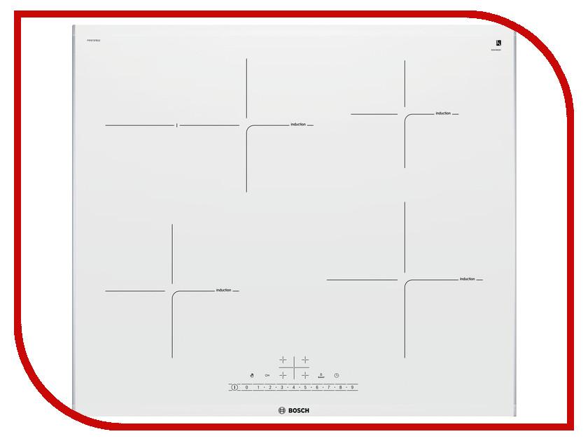 Варочная панель Bosch PIF672FB1E варочная панель электрическая bosch pif672fb1e белый