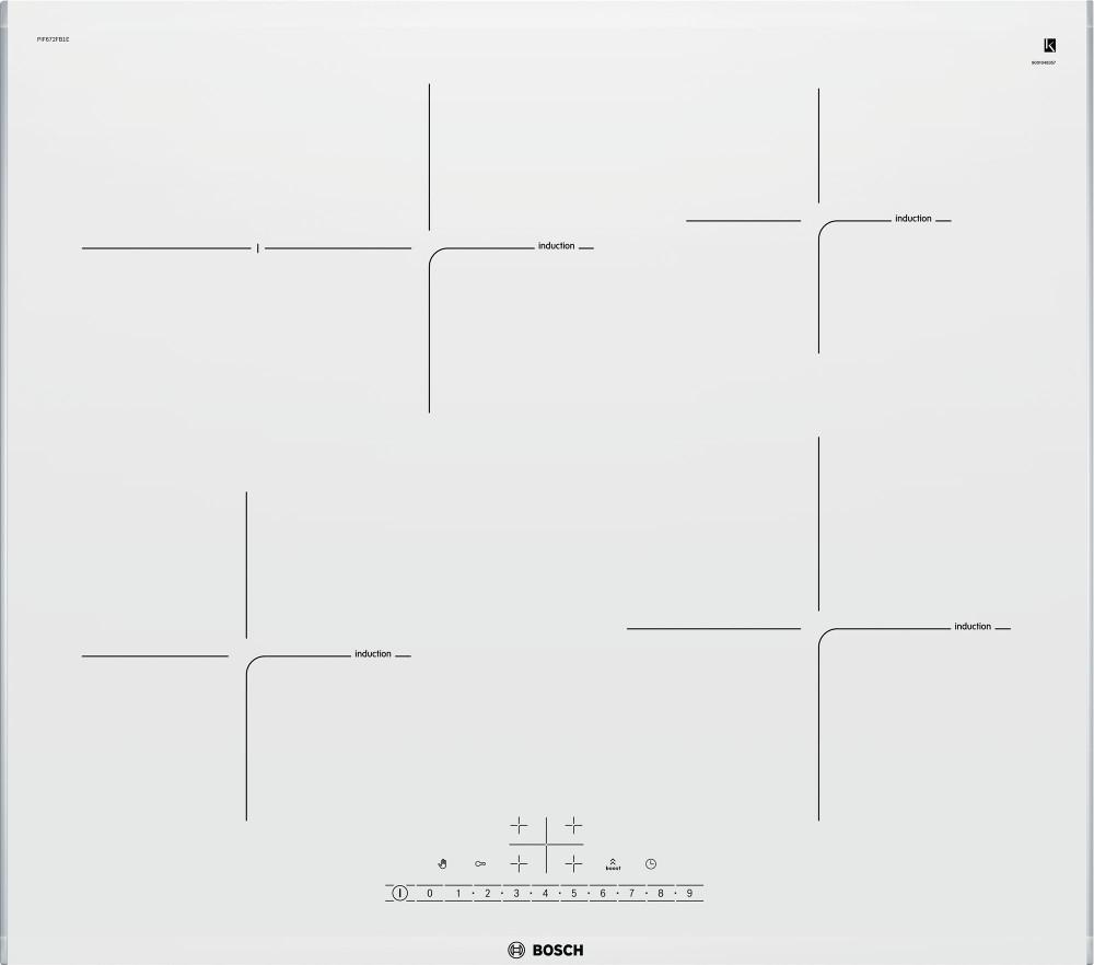 Варочная панель Bosch PIF672FB1E — PIF672FB1E