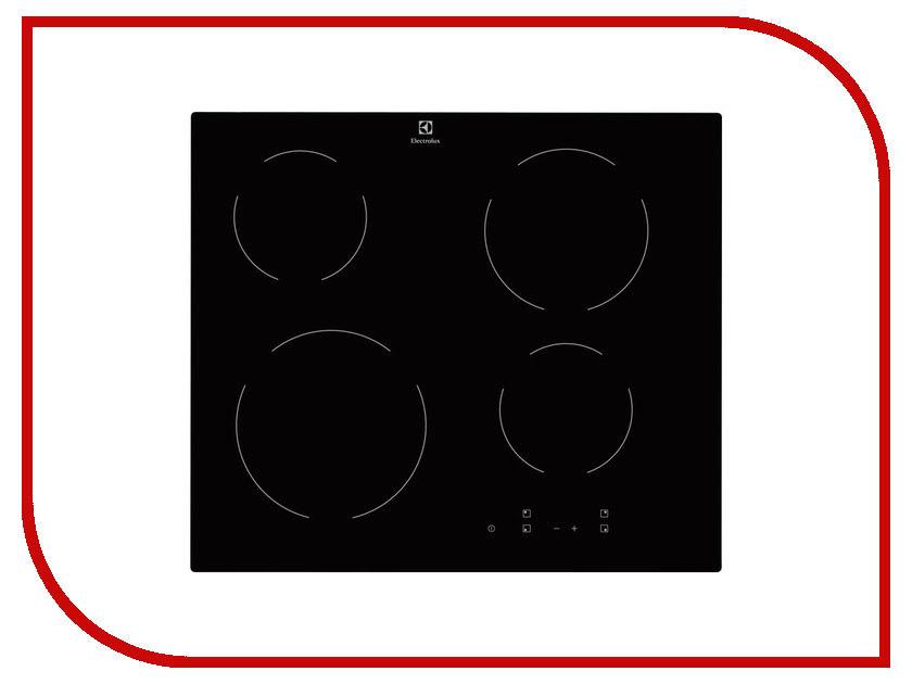 Варочная панель Electrolux EHV56240AK варочная панель electrolux ehv56240ak hi light независимая черный