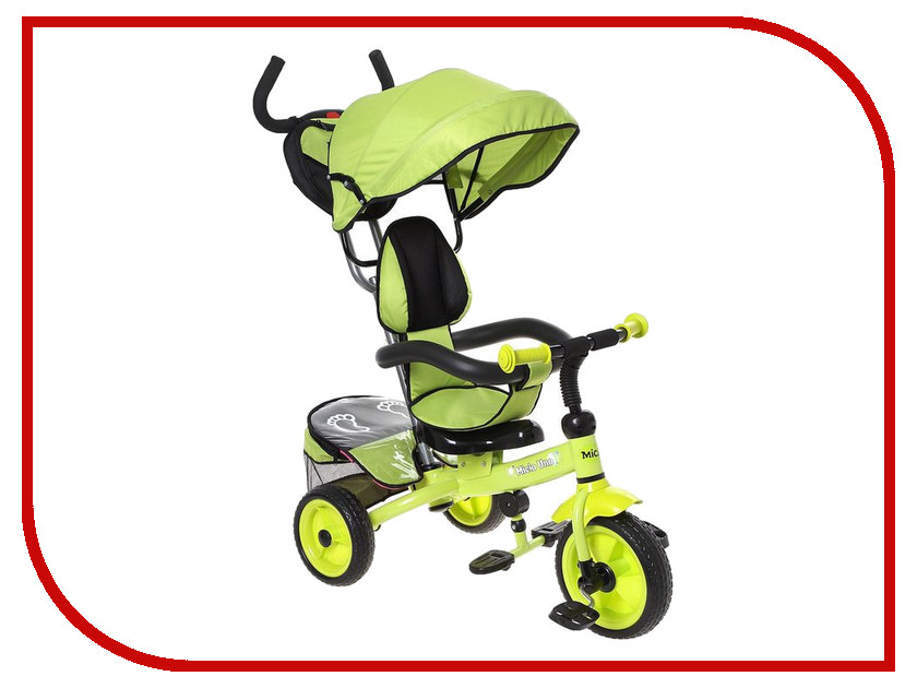 Коляска-велосипед Micio Uno 2016 Lime Green 1223901