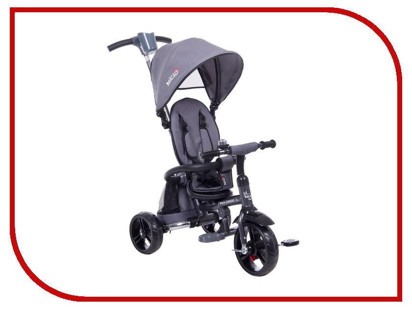 Коляска-велосипед Micio Compact 2017 Grey 1679425