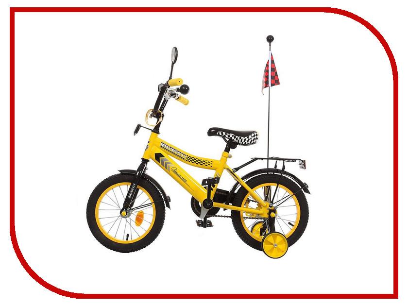 Велосипед GRAFFITI Premium Racer 2016 Yellow 1223809 1282262 graffiti