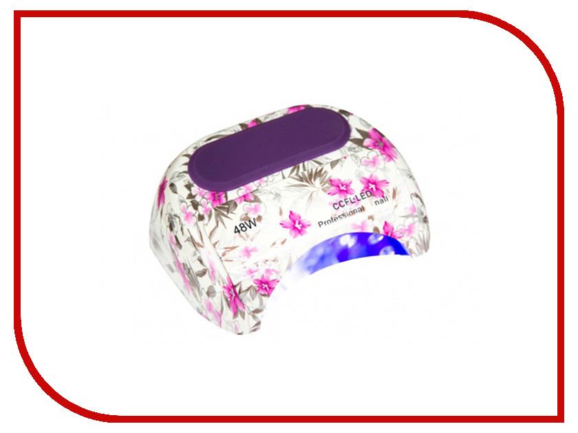 Лампа Dona Jerdona 100115 LED +CCFL 48W Pink Flowers vs 305 dona jerdona