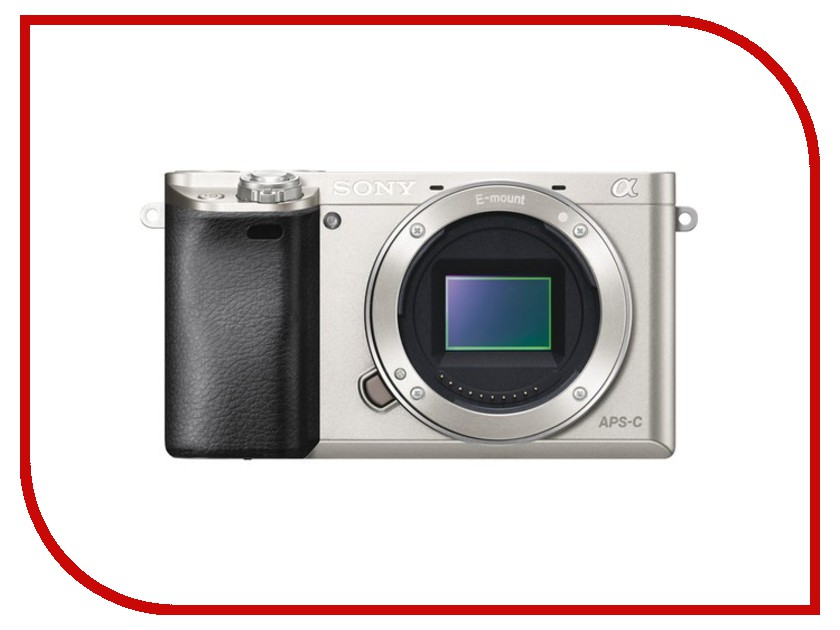 Фотоаппарат Sony Alpha A6000 Body Silver бомберы alpha industries