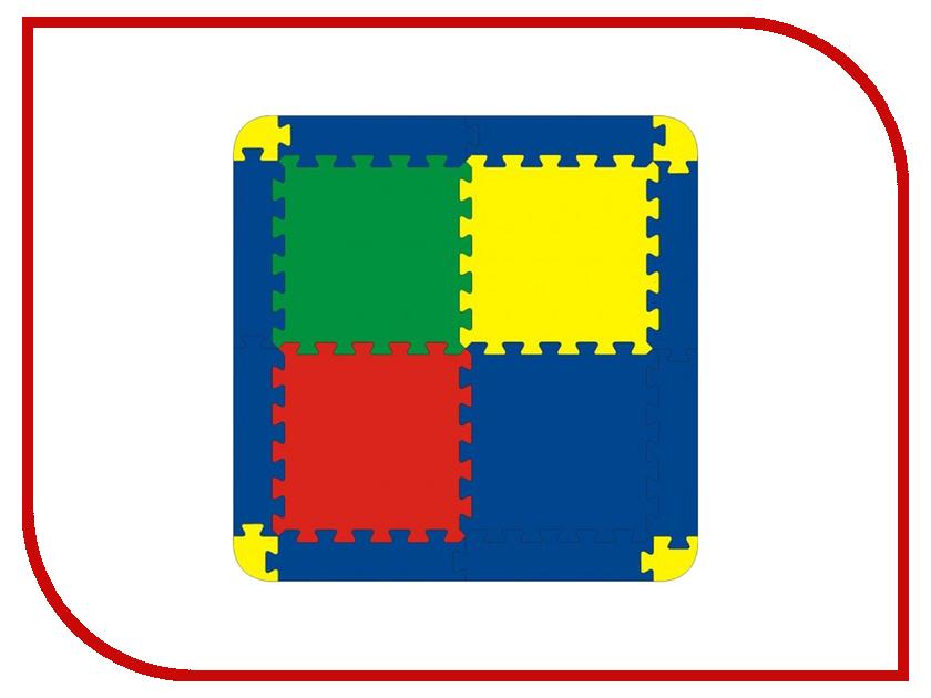 Развивающий коврик Флексика 45423 флексика пазл для малышей геометрия цвет основы красный
