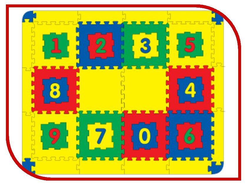 Развивающий коврик Флексика 45420