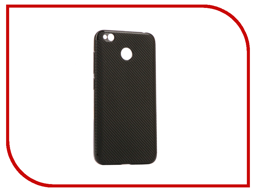Аксессуар Чехол Xiaomi Redmi 4X Zibelino Cover Back Carbon Black ZCBC-XIA-RDM-4X-BLK аксессуар чехол xiaomi redmi 4x zibelino classico black zcl xia rdm 4x blk