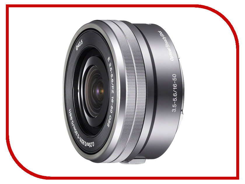 объективы для Sony SEL-P1650 16-50 mm  Объектив Sony SEL-P1650 16-50 mm F/3.5-5.6 E PZ OSS for NEX Silver*