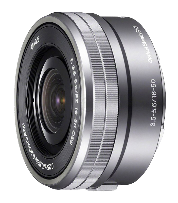Объектив Sony SEL-P1650 16-50 mm F/3.5-5.6 E PZ OSS for NEX Silver