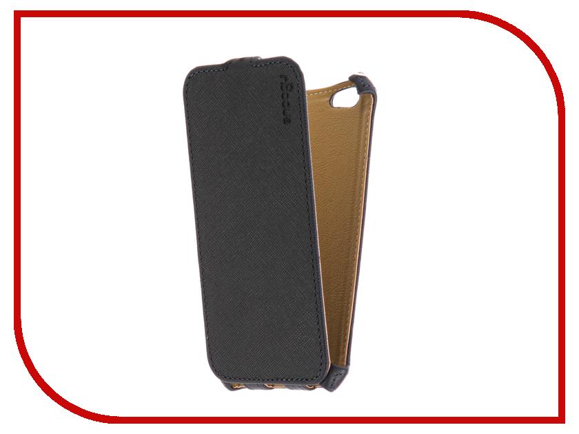 Аксессуар Чехол Snoogy иск. кожа Blue для APPLE iPhone 6/6s SN-iPh-6/6s-BLU-LTH