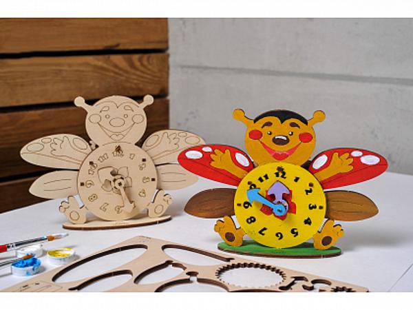 Сборная модель UGears Часы-пчелка