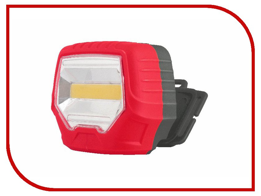 Фонарь UltraFlash 922-TH Black-Red