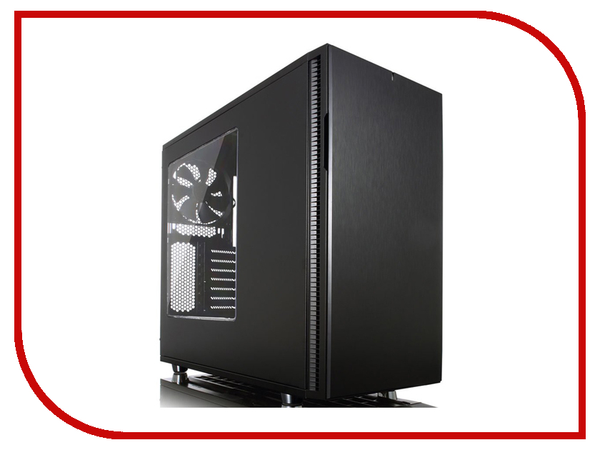 Корпус Fractal Design Define R5 Blackout Edition Window Black FD-CA-DEF-R5-BKO-W корпус fractal define r5 fd ca def r5 wt
