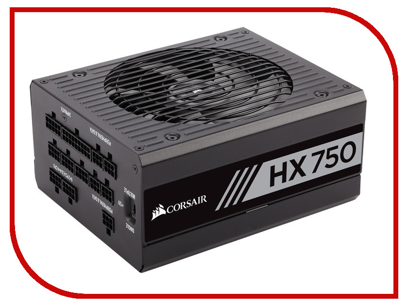 Блок питания Corsair HX750 750W CP-9020137-EU блок питания пк corsair rm750i 750w cp 9020082 eu