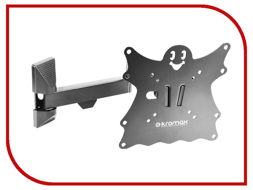 Кронштейн Kromax Casper-204 (до 30кг) Black кронштейн kromax office 9 до 8кг black