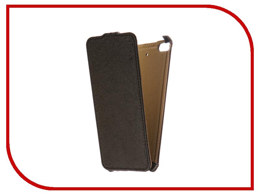 Аксессуар Чехол Xiaomi Mi5S Snoogy иск. кожа Black SN-Xia-Mi5S-BLK-LTH аксессуар чехол snoogy для apple ipad mini 2 иск кожа brown sn ipad mini2 brn lth