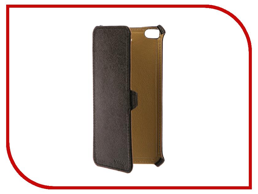 Аксессуар Чехол Xiaomi Mi5S Snoogy иск. кожа Black SN-Xiab-Mi5S-BLK-LTH аксессуар чехол snoogy для apple ipad mini 2 иск кожа brown sn ipad mini2 brn lth