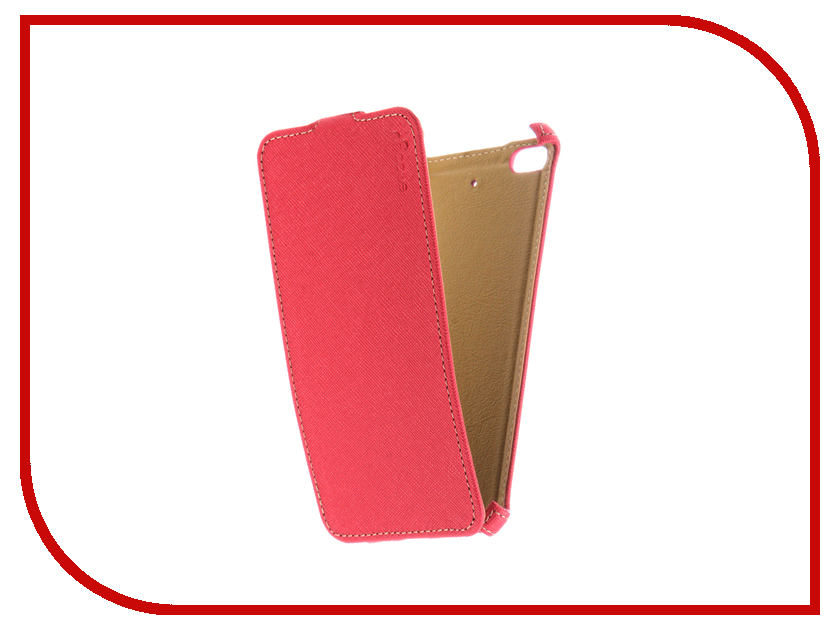 Аксессуар Чехол Xiaomi Mi5S Snoogy иск. кожа Pink SN-Xia-Mi5S-PINK-LTH аксессуар чехол st case 4 6 5 иск кожа brown st c –smfl4 6 5 brn lth