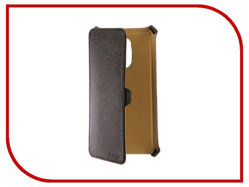 Аксессуар Чехол Xiaomi Redmi Note 4 Snoogy иск. кожа Black SN-Xia-n4-BLK-LTH