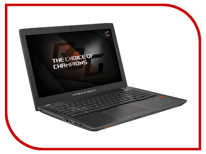 Ноутбук ASUS ROG GL553VD-FY116 90NB0DW3-M05170 (Intel Core i7-7700HQ 2.8 GHz/12288Mb/1000Gb + 128Gb SSD/DVD-RW/nVidia GeForce GTX 1050 4096Mb/Wi-Fi/Cam/15.6/1920x1080/Endless) ноутбук asus k751sj ty020d 90nb07s1 m00320