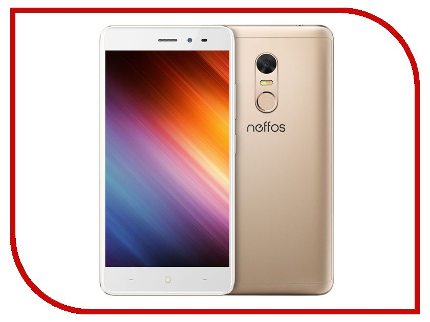Сотовый телефон Neffos X1 16Gb Lite Sunrise Gold NEF-TP904A44RU сотовый телефон neffos x1 16gb cloudy grey nef tp902a24ru