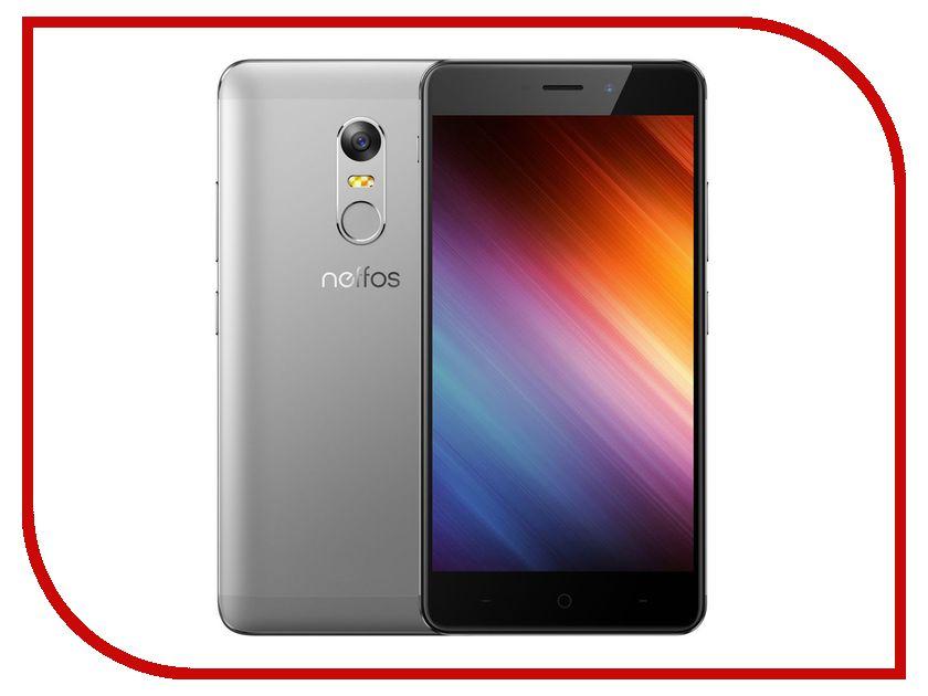 Сотовый телефон Neffos X1 16Gb Cloudy Grey NEF-TP902A24RU сотовый телефон neffos c5 pearl white nef tp701a14ru