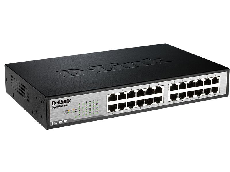 Коммутатор D-Link DGS-1024C