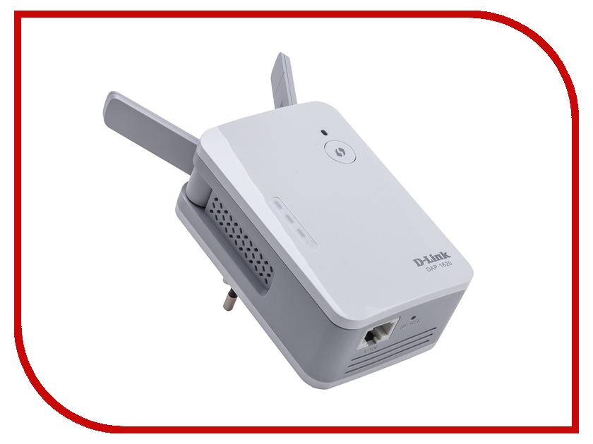Wi-Fi усилитель D-Link DAP-1620 коммутатор d link dgs 3120 48tc b1ari