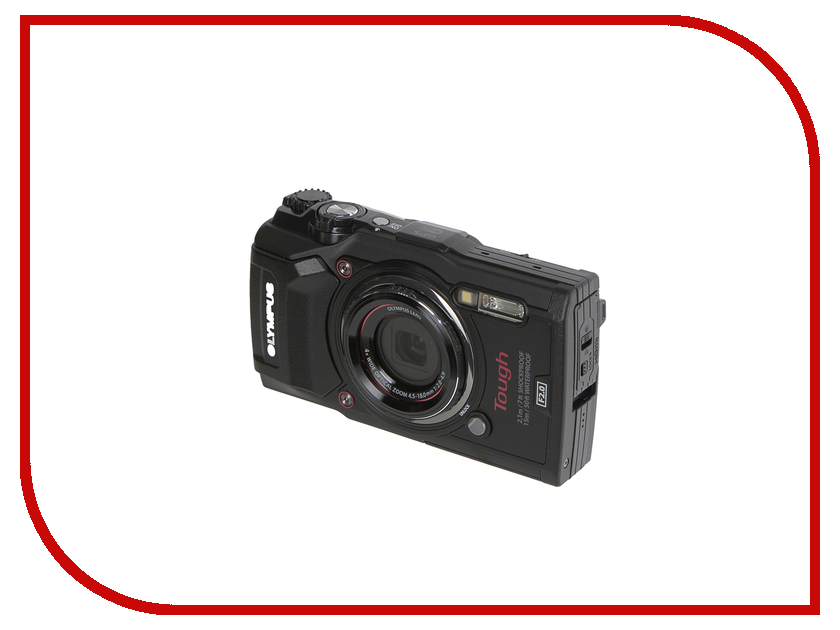 Фотоаппарат Olympus TG-5 Black dli90b replacement 3 6v 1270mah battery pack for olympus tough tg 1 ihs white black