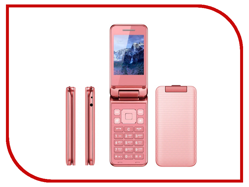 Сотовый телефон Vertex S106 Flip Pink vertex vertex impress lion 4g