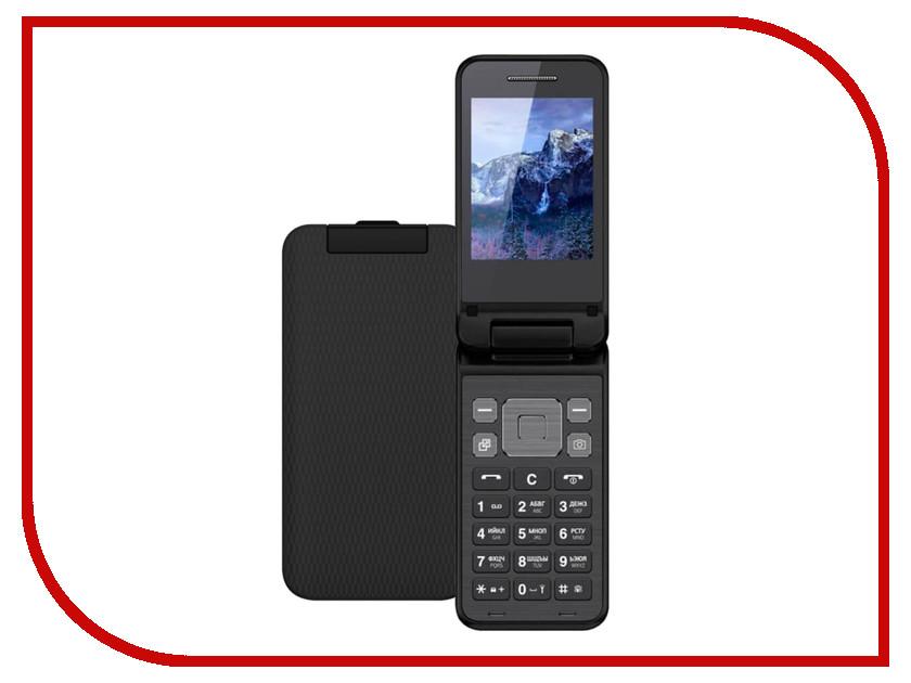 Сотовый телефон Vertex S106 Flip Black сотовый телефон lexand a2 flip black