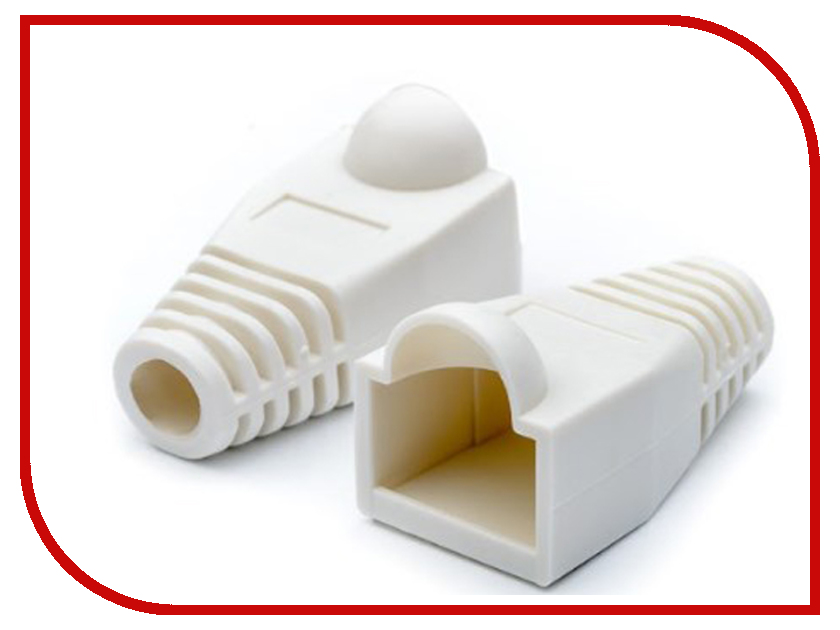 аксессуары для монтажа RJ45 АТ0107  Колпачок ATcom RJ45 АТ0107 - 100шт