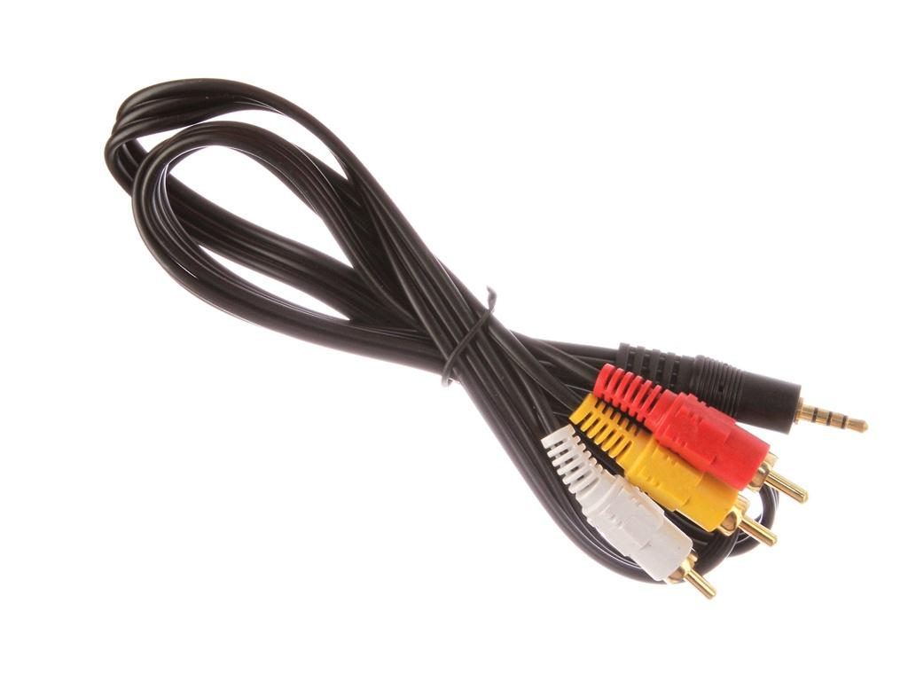 Аксессуар ATcom Geplink 3.5 mini-Jack/M - 3RCA/M 1m АТ1006