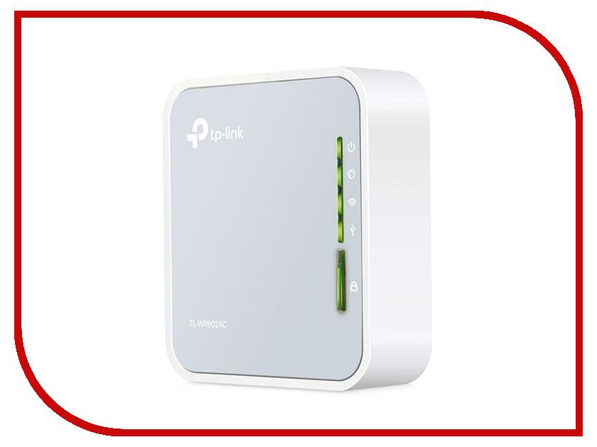 Wi-Fi роутер TP-LINK TL-WR902AC wi fi роутер tp link tl wr940n 450m