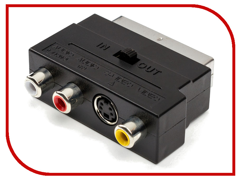 Аксессуар ATcom Geplink SCART - 3RCA+SVHS АТ1010 skw oxygen free subwoofer enthusiast amplifier 3rca to 3rca lotus audio and video cable box connected to tv three rca av dv
