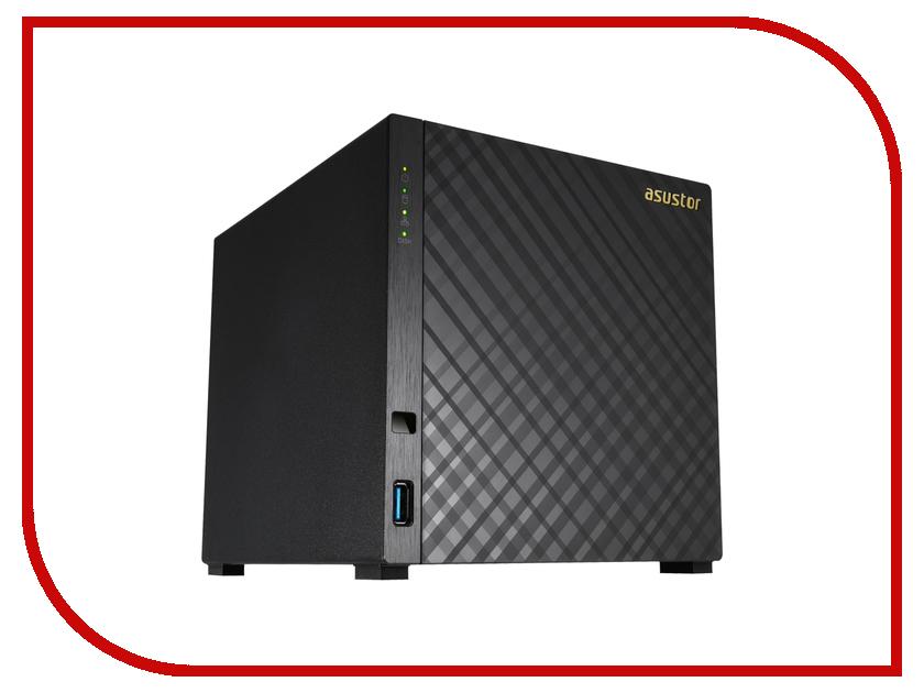 Сетевое хранилище ASUSTOR AS3204T drobo 5dt drdr5a31 t внешнее хранилище black