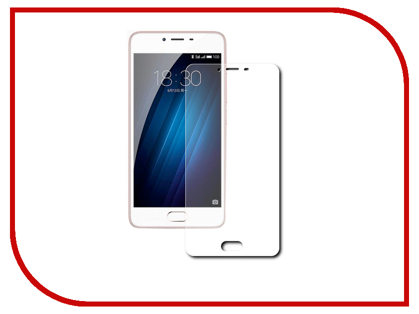 Аксессуар Защитное стекло для Meizu M5 Note/Meilan Note 5 Snoogy 0.33mm best for meizu m3e meilan e lcd display touch screen digitizer assembly replacement parts high quality with tools as gift