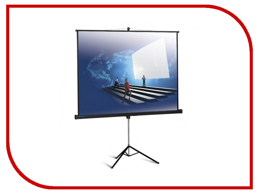 Экран Classic Solution Crux 210x173cm MW-S0/B на штативе