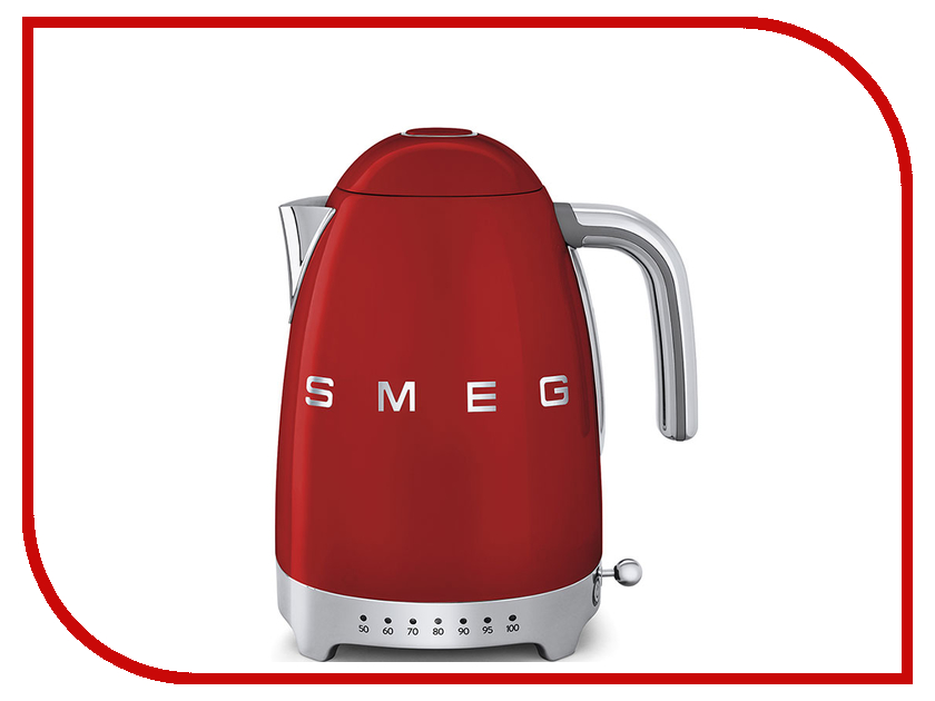 Чайник Smeg KLF02RDEU чайник smeg klf02bleu